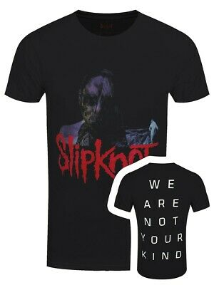 Slipknot T-shirt We Are Not Your Kind Back Hit Men's Black