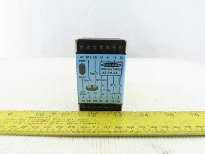 Banner AT-FM-2A Duo-Touch SG Safety Relay 72050 s