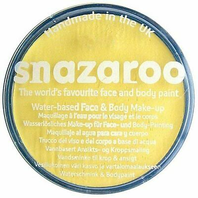 Yellow Snazaroo High Quality Non-Toxic Party Face Paint for Festivals & Fairs