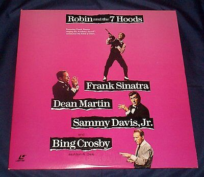 ROBIN AND THE 7 HOODS - WS Laserdisc -  Rat Pack