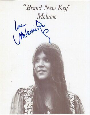 Melanie Safka signed photo in person Woodstock Brand New Key Proof