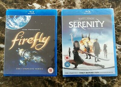 Firefly and Serenity Blu-Ray New