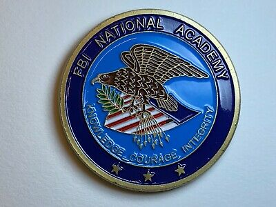 FBI National Academy Challenge Coin