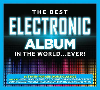 THE BEST ELECTRONIC ALBUM IN THE WORLD...EVER! 3 CD SET (Released 13/09/2019)