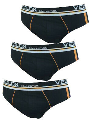 3 Pack Classic Briefs Mens UK Size S-XL Underpants Adults Teenagers Underwear