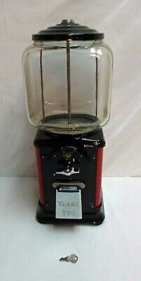 Vintage Victor Vending Company 1 Cent Gumball Machine NEEDS REPAIR