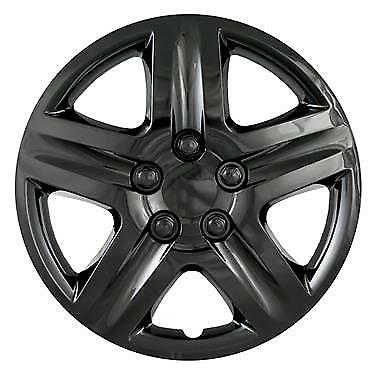 """New 2010 2011 2012 FORD FUSION 17"""" BLACK Hubcap Wheelcover"""
