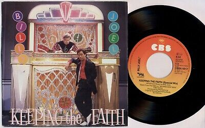 "BILLY JOEL 'Keeping The Faith (Special Mix)' 1983 Dutch 7"" / 45 vinyl single"