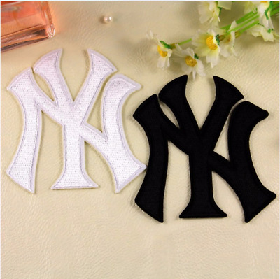 Patch Toppa Brand Logo New York Yankees Baseball MLB Ricamata Termoadesiva 8x8cm