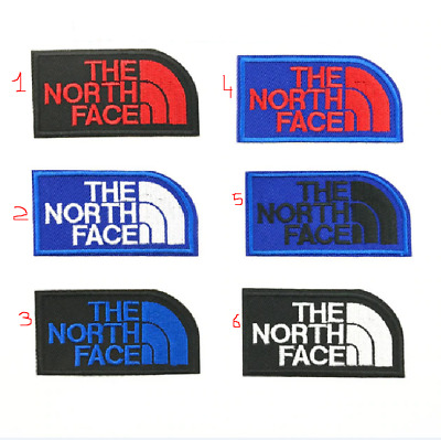 Patch Toppa Brand Logo The North Face Ricamata Termoadesiva 7,2x3,8cm