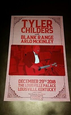 TYLER CHILDERS Louisville KY Palace 2018 SHOW PRINT Poster Tour Purgatory Squire