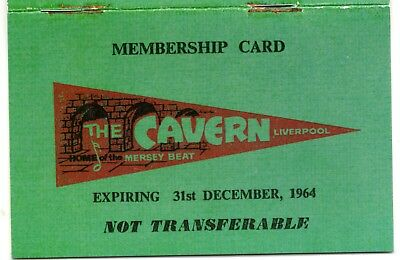 CAVERN CLUB Liverpool Beatles 1960s Retro Old Vintage Book Green Pop Yesterday