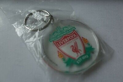 """Official Licensed Liverpool Plastic Keyring """"This Is Anfield Design New"""""""