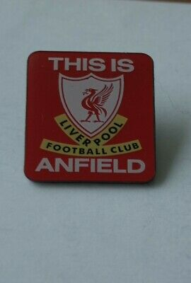 """Official Licensed Liverpool Football Badge """"This Is Anfield Design New"""""""