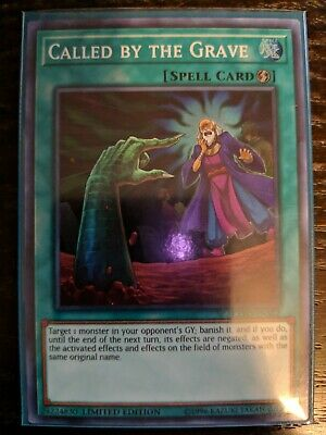 Yugioh Called By The Grave EXFO-ENSE2 Super Rare NM Limited