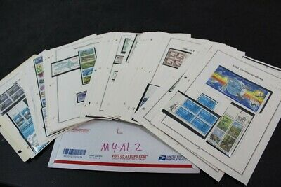 CKStamps 2 : Lovely Mint US Stamps & PB Collection In Pages ( Face Value $260.00