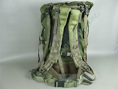 """US Army Style Military Large Canvas Backpack Set 26"""" Steel Frame Padded Rucksack"""