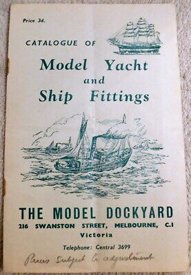 1948 - Vintage The Model Dockyard 8 Page Catalogue / Price List - Illustrated