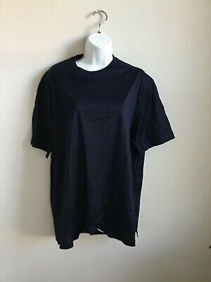 NWOT Brioni Neiman Marcus dark navy blue tee-shirt Size large made in Italy