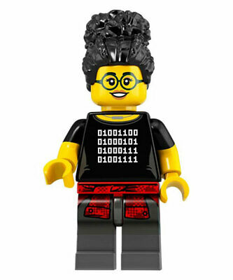 Lego Series 19 CMF NEW Programmer collectible minifigure CMF 2019 71025 coder