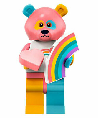 Lego Series 19 CMF NEW Bear Costume Guy collectible minifigure CMF 2019 71025