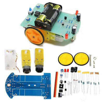 2WD DIY Smart Car Chassis Tracking Robot Reduction Motor Replacement For Arduino
