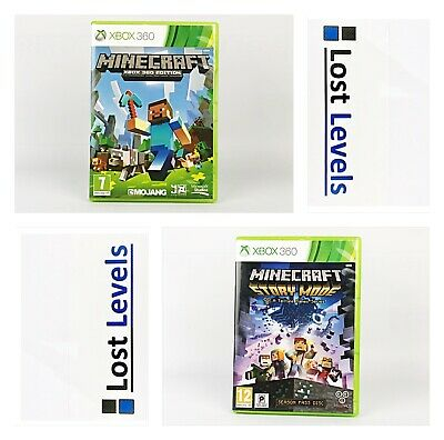 Xbox 360 - Minecraft Series - Same Day Dispatched - Boxed - VGC  *Multi Listing*