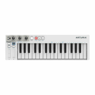 Arturia KeyStep Portable Keyboard Controller, with Polyphonic Step Sequencer, 32