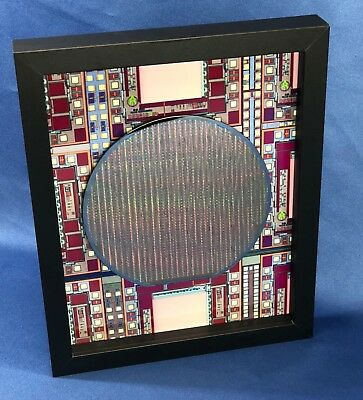Silicon Wafer - The Memory Chip (DS2016,SRAM,2Kx8,8x10