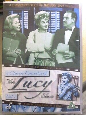The Lucy Show Vol.3 DVD Classic American Comedy with Lucille Ball