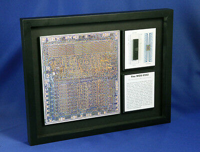 The MOS 6502 - The Hobbyist's Microprocessor (Atari,Apple,Artwork,ChipScapes)