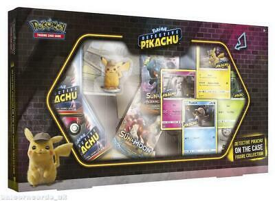 Pokemon TCG: Detective Pikachu On the Case Figure Collection :: Brand New And Se
