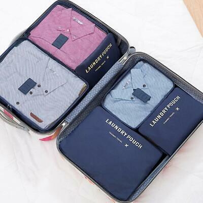 6Pcs Travel Storage Bag Set for Clothes Luggage Packing CoverOrganizer Suitcase