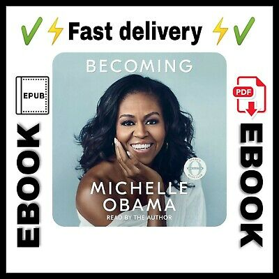 Becoming by Michelle Obama pdf&epub  🔥fast🔥