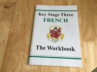 Cgp Key Stage 3 French The Workbook Age 11-14 Ks3 Questions Grammar Phrases