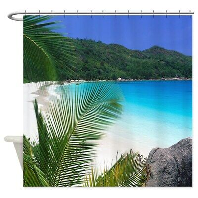 63034828 CafePress Parrots In Paradise Shower Curtain