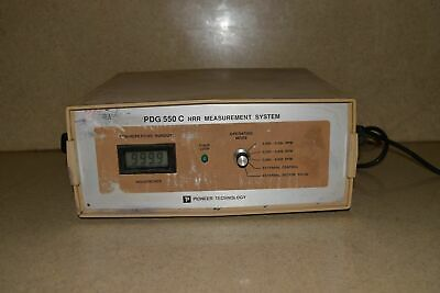 Pioneer Technology Pdg 550C Nrr Measurement System
