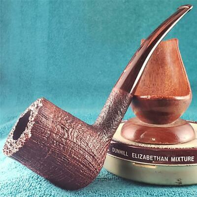 VERY MINT 1996 Dunhill SHILLING HUGE 1/8 BENT ENGLISH Estate Pipe 360 RING GRAIN