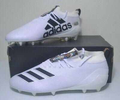 Adidas AdiZero 8.0 Low Lightweight Football Cleats | SZ 14 to 18 | EE4099 White