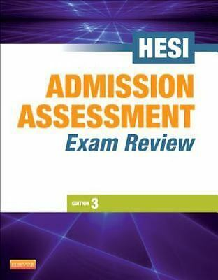 Admission Assessment Exam Review, 3e, HESI, Good Book
