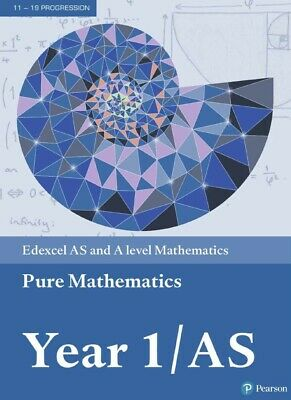 Edexcel AS and A level Mathematics Pure Mathematics Year 1AS Textbook PDF Only