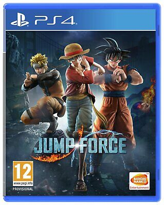 Jump Force Sony Playstation PS4 Game 12+ Years
