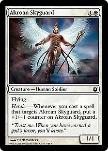 - Born of the Gods Uncommon 4 x Akroan Phalanx 2//165
