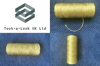 Beautiful Bakers Twine Solid Gold 2Mm 12 Ply Craft String Excellent Quality
