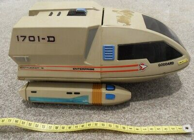 UK Star Trek Enterprise Shuttlecraft 15 Goddard 1701-D With Working Sounds BIG V