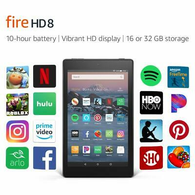 BRAND NEW Amazon Fire HD 8 Tablet 16 GB w/Alexa 7th Gen Black with offer