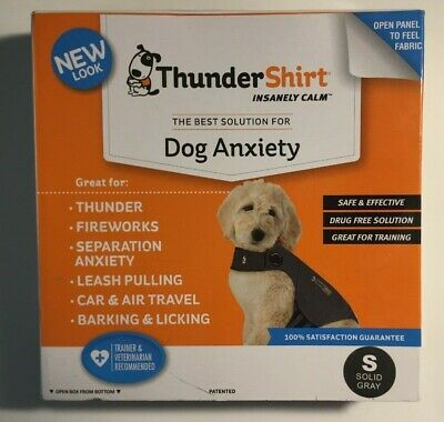 ThunderShirt Polo Dog Anxiety Jacket Small 15-25 lbs