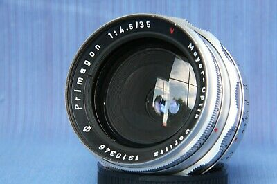 Meyer Optik Gorlitz Q1 Primagon 35mm f/4.5 M42 mount,RARE LENS