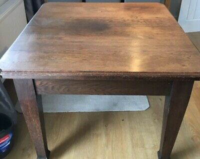 Antique Extending Dining Table Not Sure If Victorian Edwardian Georgian ?