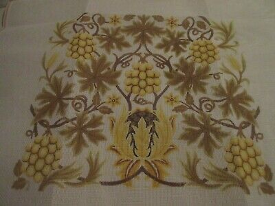 Canvas Needlepoint Tapestry Beth Russell William Morris SUNFLOWER Design Pillow